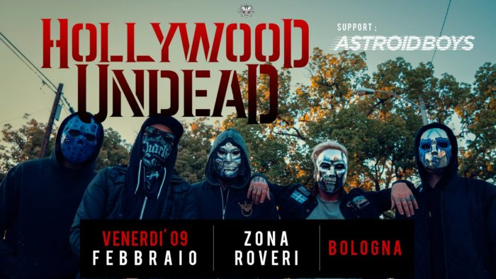 Hollywood Undead - Astroid Boys - Zona Roveri - Tour 2018 - Promo