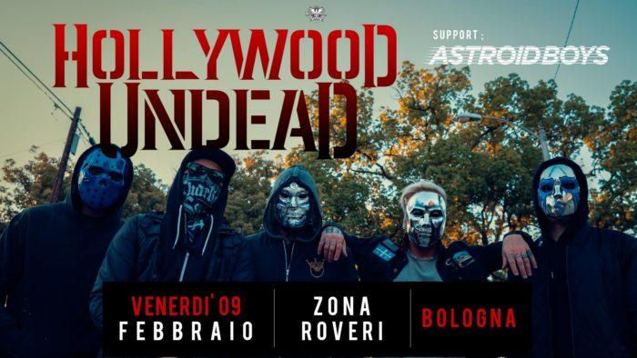 Hollywood Undead - Astroid Boys - Zona Roveri - Tour 2018 - Promo