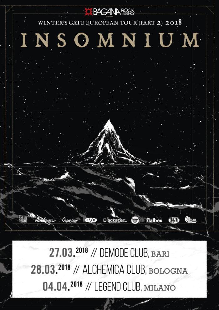 Insomnium Winter' s Gate European Tour Part 2 - 2018 - Promo