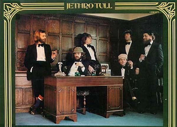 Jethro Tull - Heavy Horses 1978 - back cover