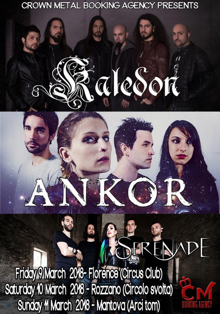Kaledon - Ankor Serenade - Italian Tour 2018 - Promo