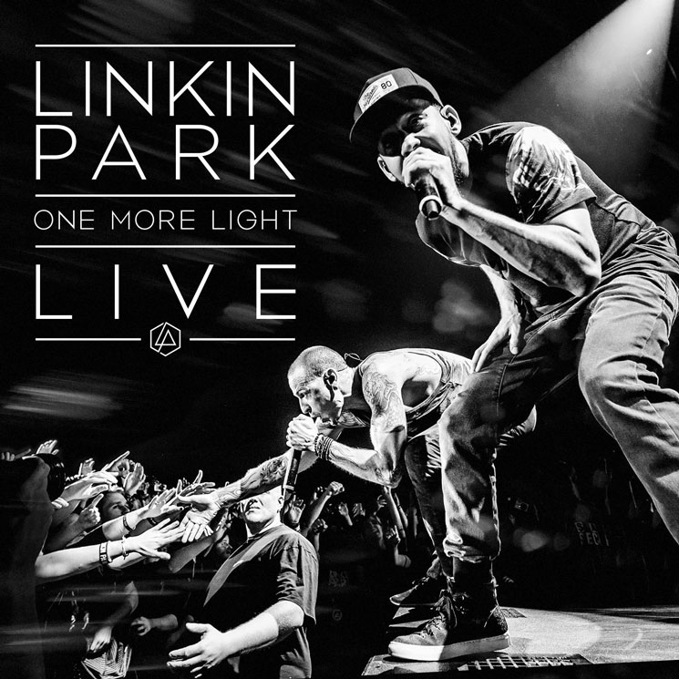Linkin Park - One More Light Live - Album Cover