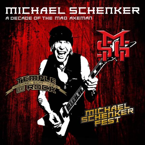 Michael Schenker - A Decade Of The Mad Axeman - Album Cover