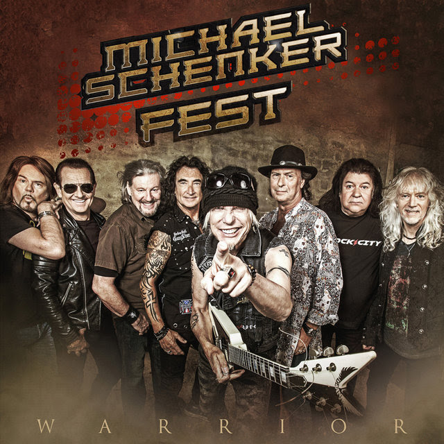 Michael Schenker Fest - Warrior - Single Cover