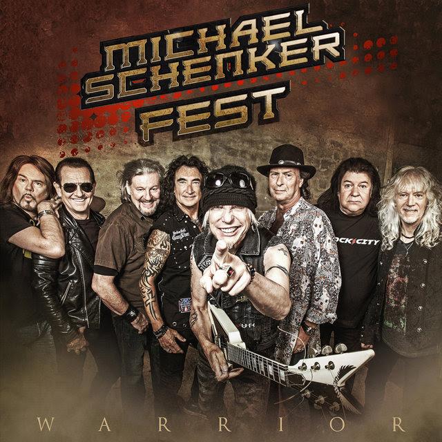 Michael Schenker Fest - Warrior - Single Cover