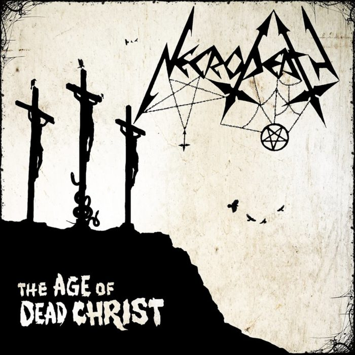 Necrodeath - The Age Of Dead Christ - Album Cover