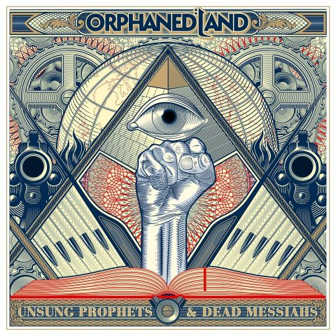 Orphaned Land - Unsung Prophets & Dead Messiahs - Album Cover