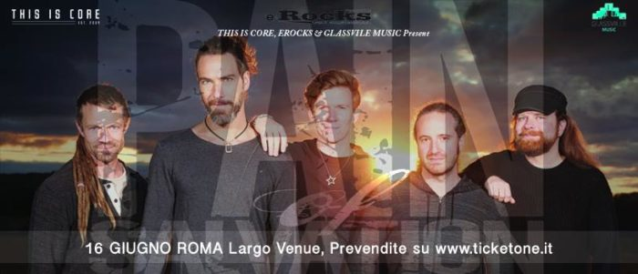 Pain Of Salvation - Largo Venue - Tour 2018 - Promo
