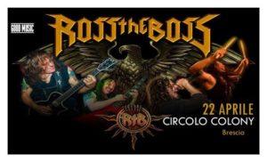 Ross The Boss @ Brescia @ Circolo Colony