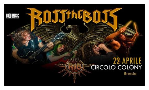 Ross The Boss - Circolo Colony - Tour 2018 - Promo