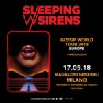 Sleeping With Sirens - Magazzini Generali- Gossip World Tour 2018 - Promo