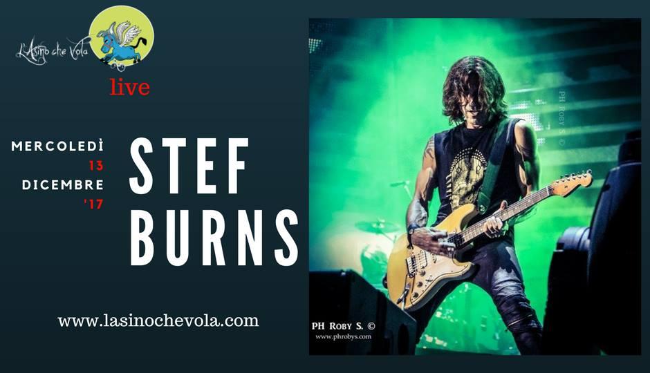 Stef Burns - L'Asino Che Vola - Tour 2017 - Promo