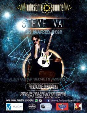 Steve Vai - Frosinone @ Cinema Teatro Mangoni
