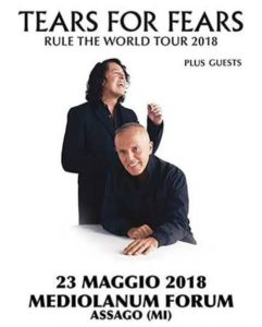 Tears For Fears @ Milano @ Mediolanum Forum