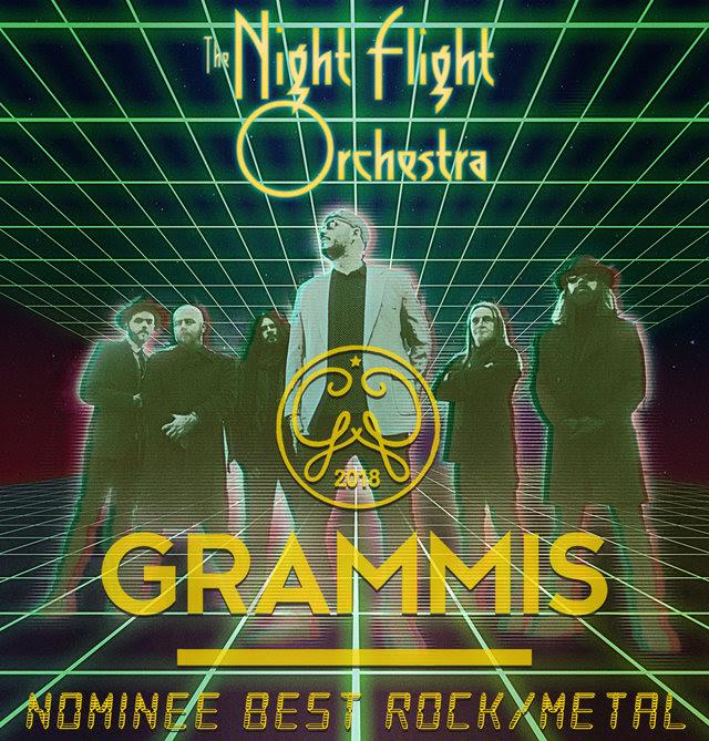 The Night Flight Orchestra - Nominee Best Rock Metal Grammis - 2018