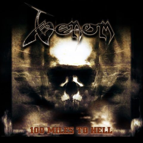 Venom - 100 Miles To Hell - EP Cover
