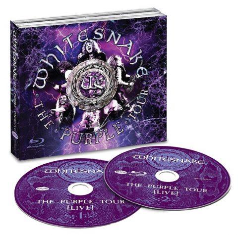 Whitesnake - The Purple Tour Live - CD/DVD Cover