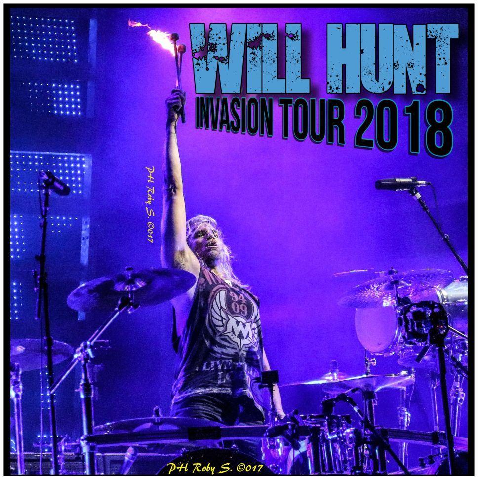 WEill Hunt - Invasion Tour 2018 - Promo