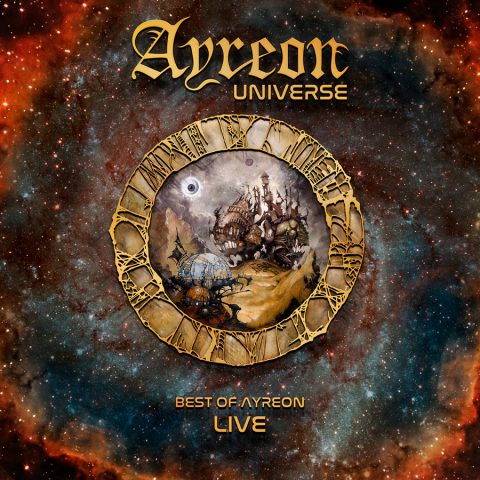 Ayreon - Ayreon Universe Best Of Ayreon Live - Album Cover