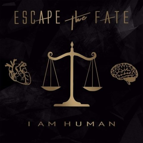 Escape The Fate - I Am Human - Album Cover