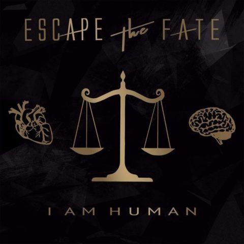 Escape The Fate - I Am Human - Album Cover