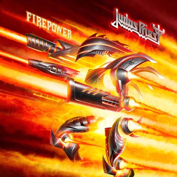 Judas Priest - Firepower - Album Cover