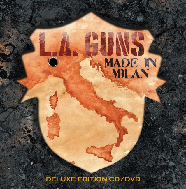 LA Guns - Made In Milan - CD/DVD Cover
