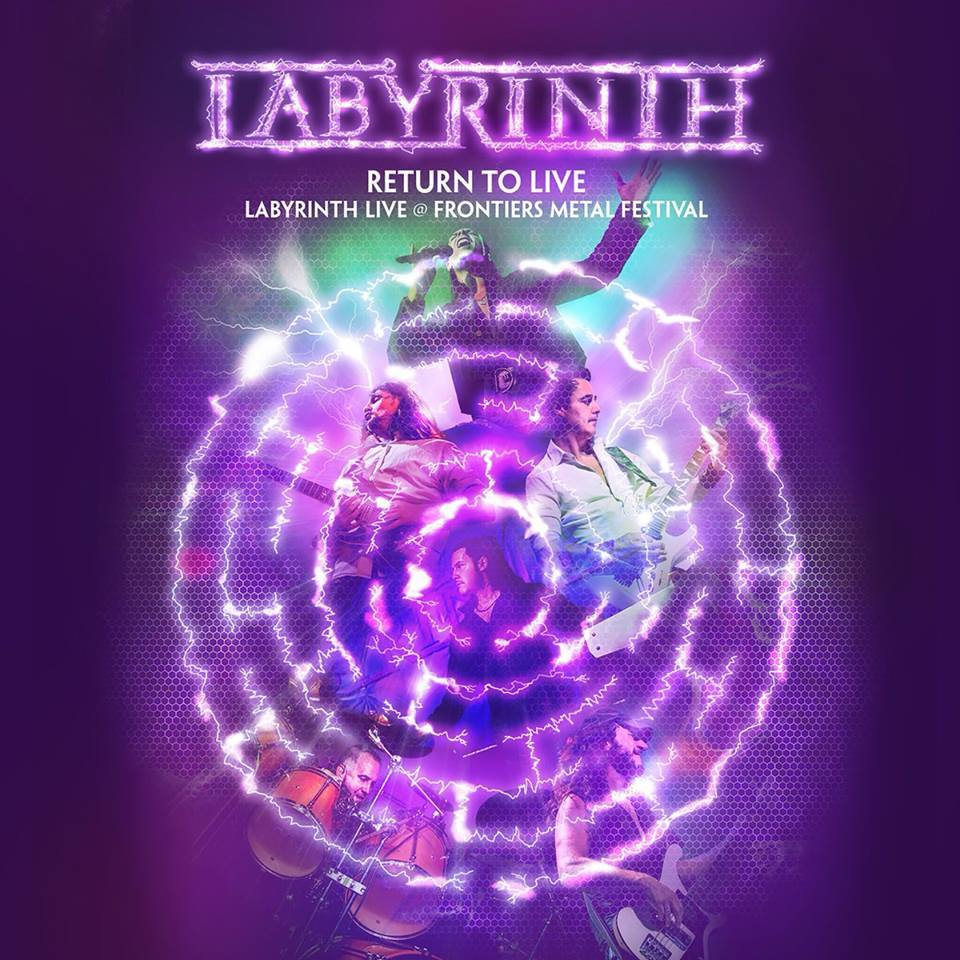 Labyrinth - Return To Live - Album Cover