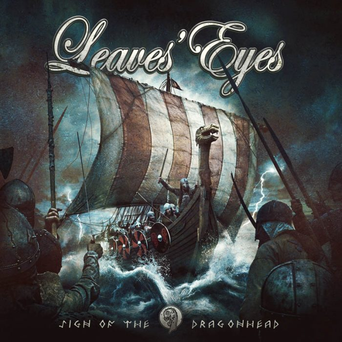 Leaves Eyes - Sign Of The Dragonhead - Album Cover
