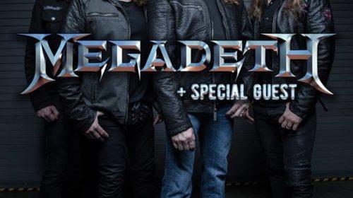 Megadeth - Rock In Roma - Tour 2018 - Promo