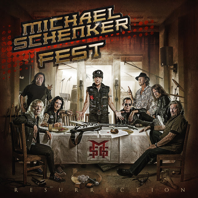 Michael Schenker Fest - Resurrection - Album Cover