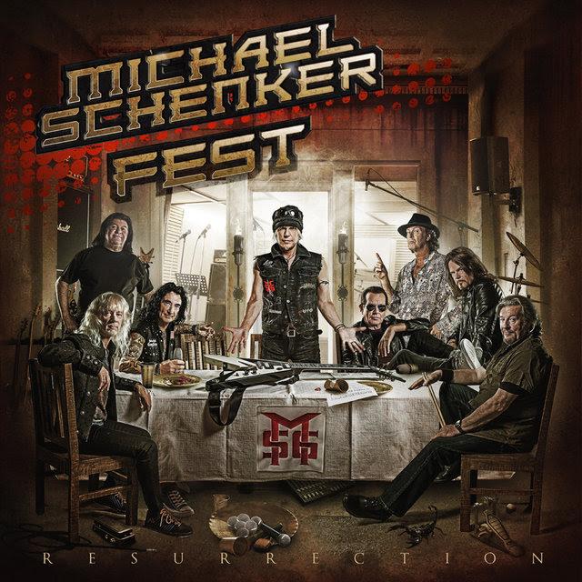 Michael Schenker Fest - Resurrection - Album Cover