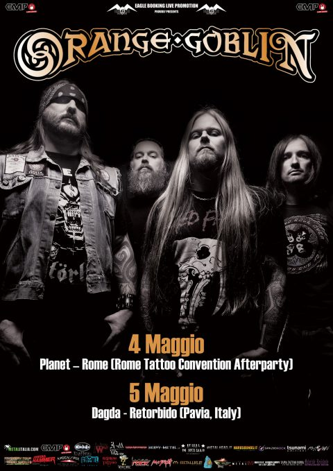 Orange Goblin - Italian Tour 2018 - Promo