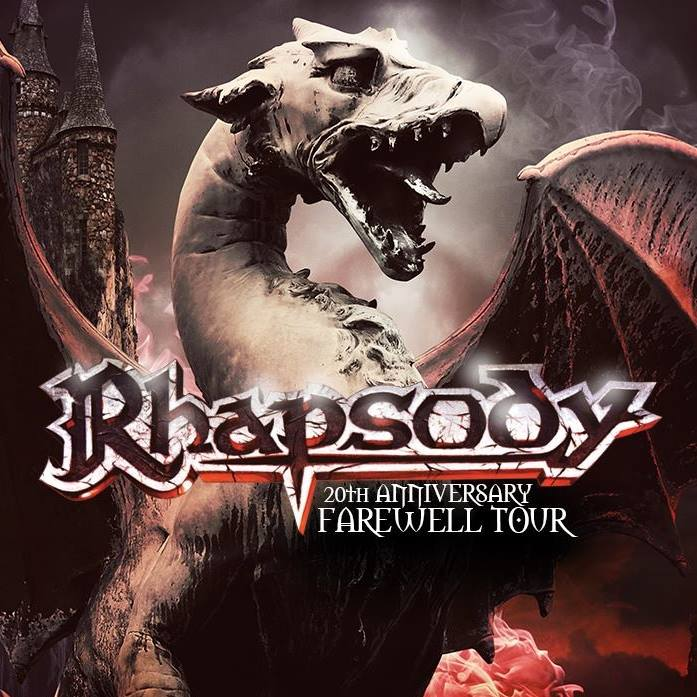 Rhapsody - 20Th Anniversary Farewell Tour - 2018 - Promo