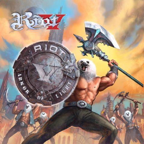 Riot V - Armor Of Light - Album Cover