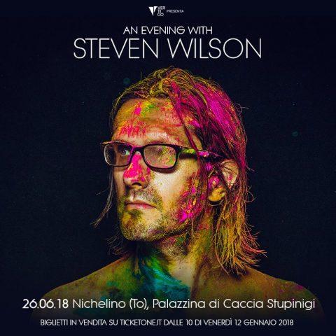 Steven Wilson - Palazzina Di Caccia Stupinigi - To The Bone Tour 2018 - Promo