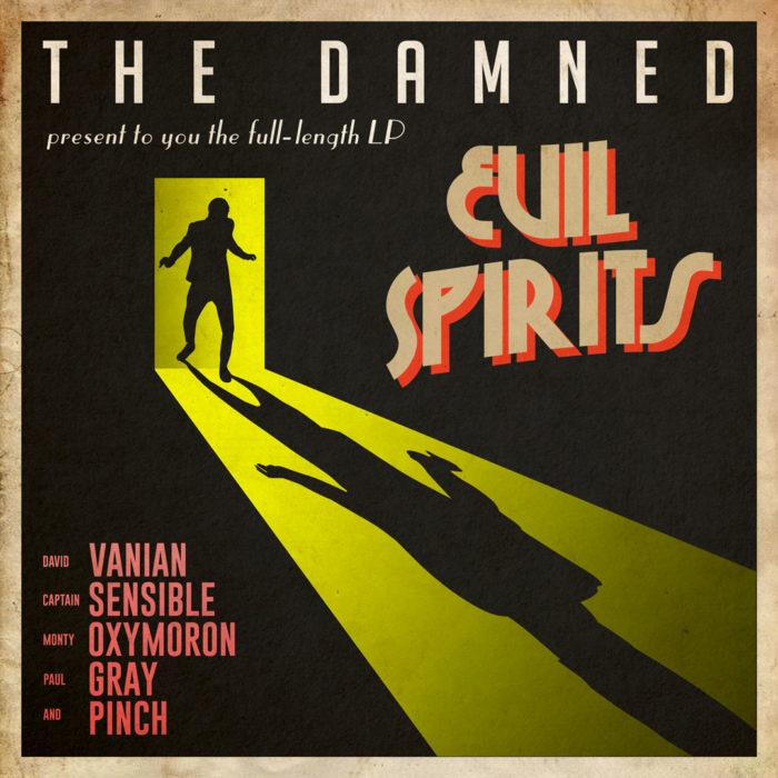 The Damned - Evil Spirits - Album Cover