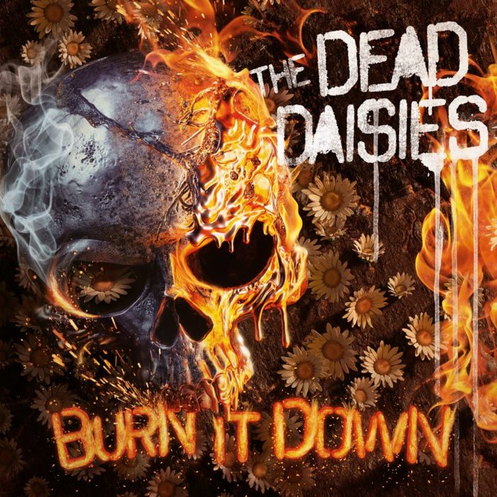 The Dead Daisies - Burn It Down - Album Cover