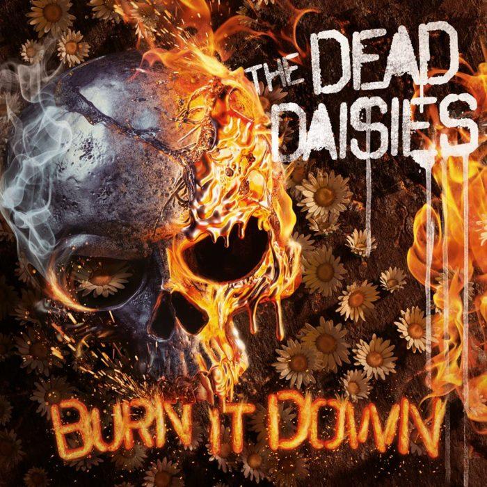 The Dead Daisies - Burn It Down - Album Cover