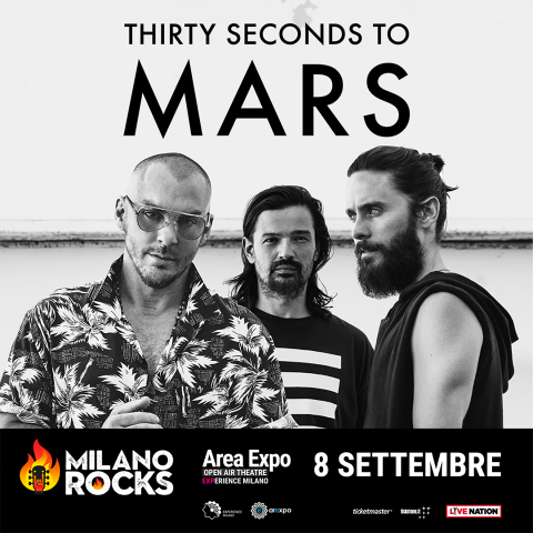 Thirty Seconds To Mars - Milano Rocks 2018 - Promo