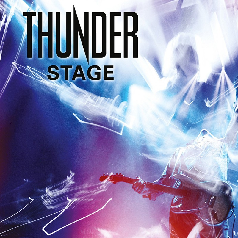 Thunder - Stage - Live Album Cover