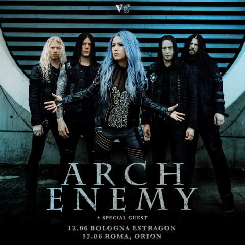 Arch Enemy - Italian Tour 2018 - Promo