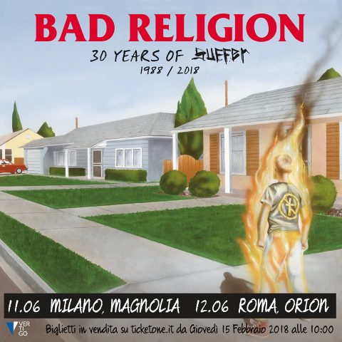 Bad Religion - 30 Years Of Suffer - Tour 2018 - Promo