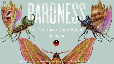 Baroness - Zona Roveri - Tour 2018 - Promo
