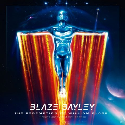 Blaze Bayley - The Redemption Of William Black - Album Cover