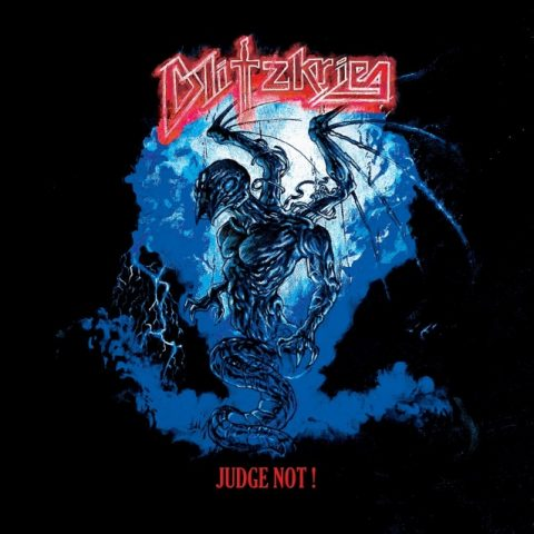 Blitzkrieg - Judge Not - Album Cover