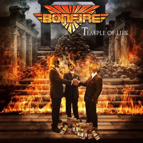 Bonfire - Temple Of Lies - Album Cover