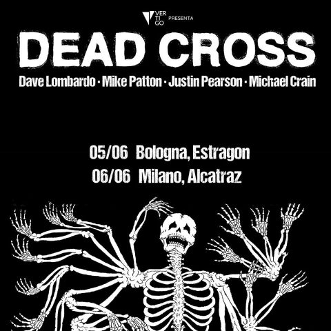 Dead Cross - Italian Tour 2018 - Promo