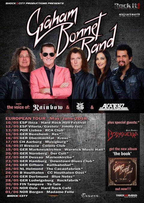 Graham Bonnet Band - Tour 2018 - Promo
