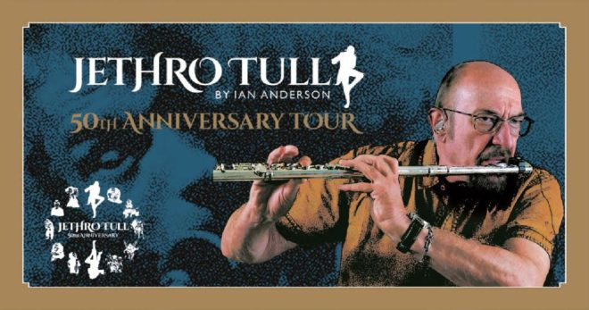 Ian Anderson - Jethro Tull 50th Anniversary Tour @ Firenze